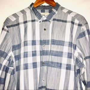 Burberry Shirts - Burberry Brit Blue Nova Check Shirt